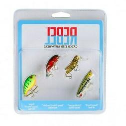 Rebel Classic Critters 4-Piece Variety Pack Pond, Creek, & S