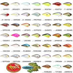 Lucky Craft Crankbait Square Bill SILENT  Any 45 Fishing Lur