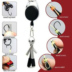 Fishing Quick Knot Tool Fast Tie Nail Knotter Line Cutter Cl